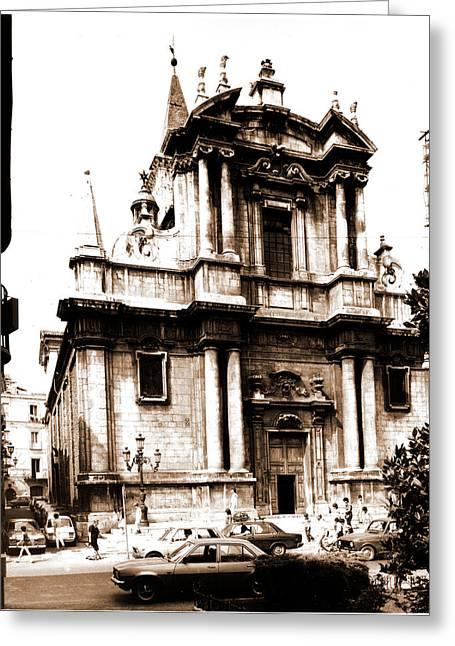 Abruzzo, Aquila, Sulmona, Chiesa Dell Annunziata Greeting Card