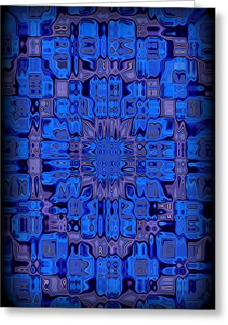 Abstract 119 Greeting Card by J D Owen