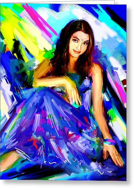 Aishwarya Rai Greeting Card