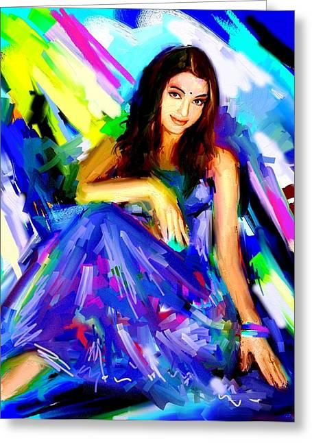 Aishwarya Rai Greeting Card