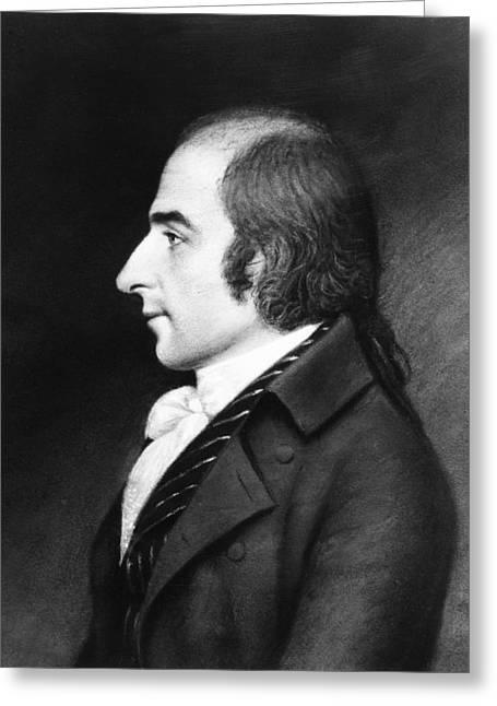 Albert Gallatin (1761-1849) Greeting Card by Granger