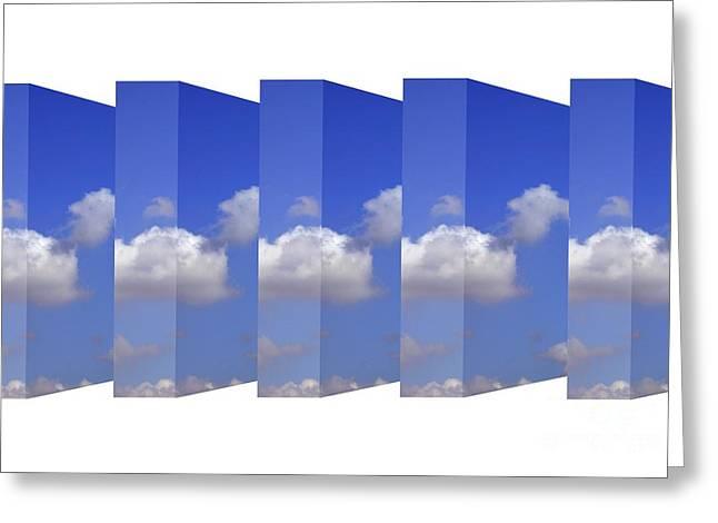 Alternate Dimensions, Conceptual Artwork Greeting Card