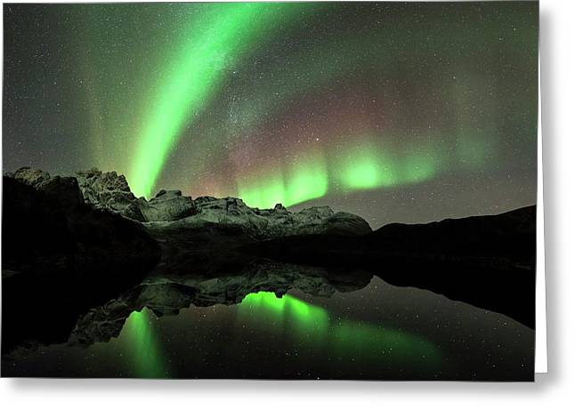 Aurora Borealis Greeting Card