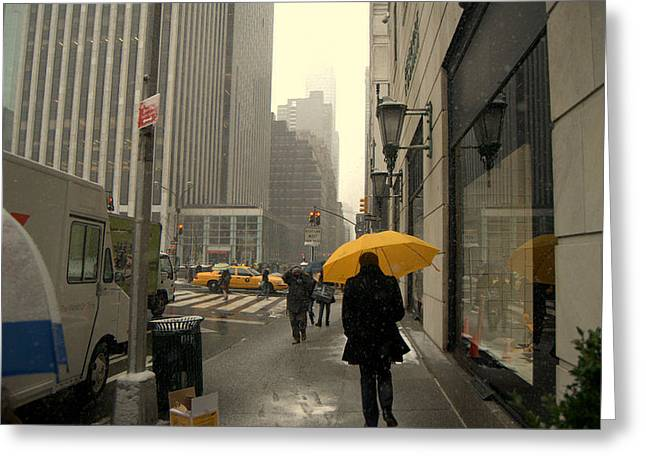 5 Avenue Greeting Card