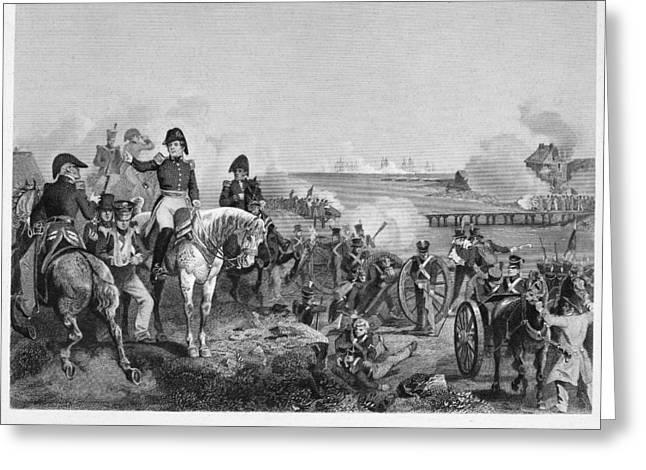 Battle Of Lake Champlain Greeting Card by Granger