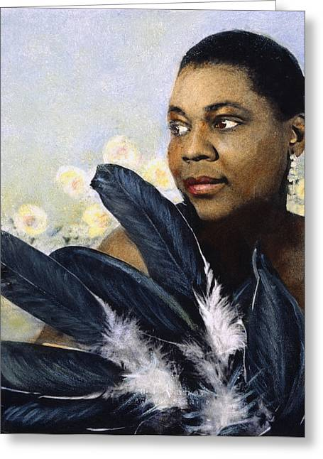 Bessie Smith (1894-1937) Greeting Card by Granger