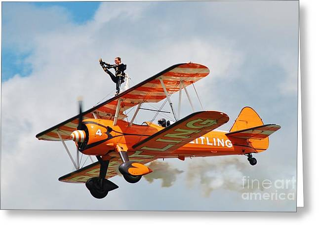 Breitling Wingwalkers Team Greeting Card