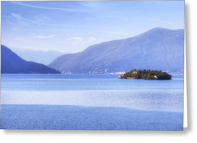 Brissago Islands Greeting Card by Joana Kruse