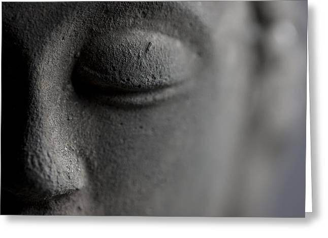 Buddha Greeting Card by Falko Follert