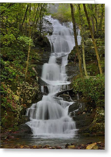 Buttermilk Falls Greeting Card by Stephen  Vecchiotti