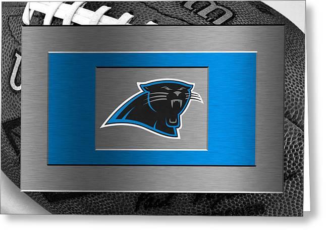Carolina Panthers Greeting Card