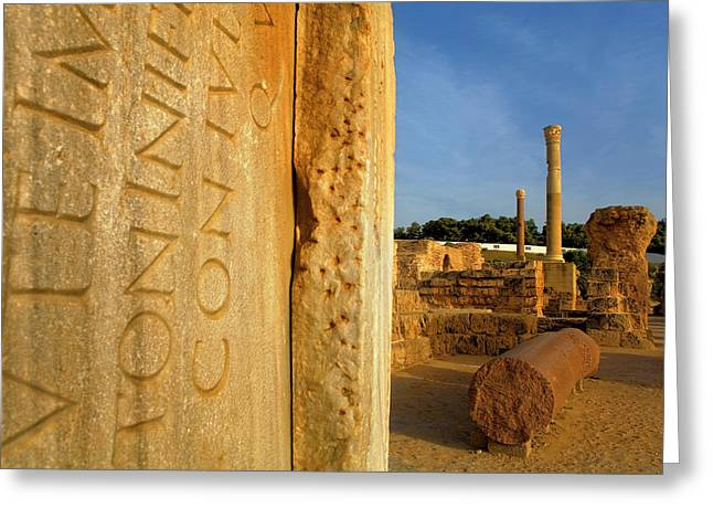 Carthage Greeting Card