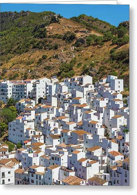 Casares, Andalusia, Spain Greeting Card