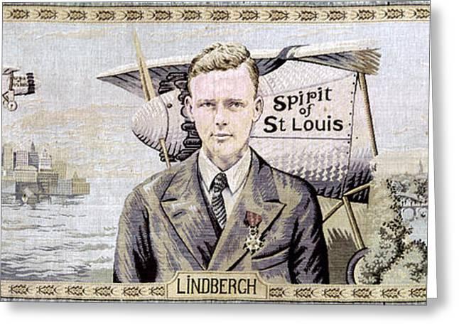 Charles Lindbergh (1902-1974) Greeting Card by Granger