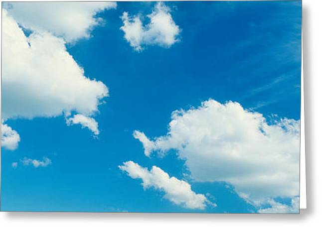 Clouds Greeting Card by Panoramic Images