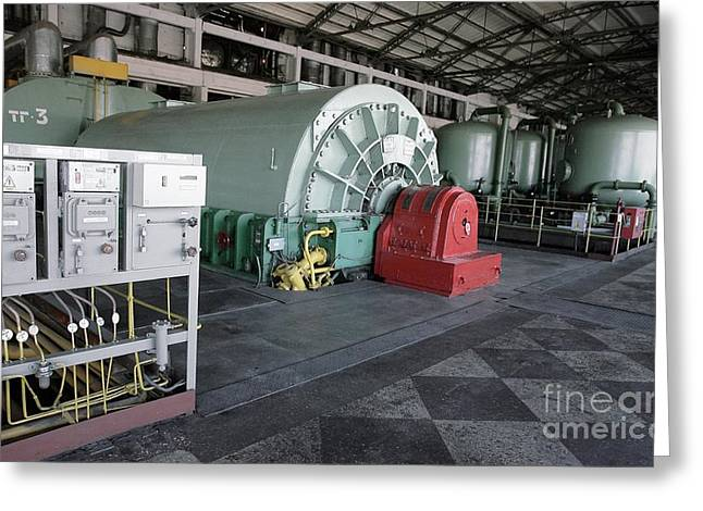Coal Fired Power Station Greeting Card by RIA Novosti