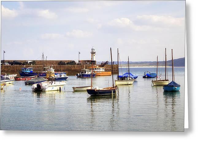 Cornwall - St Ives Greeting Card by Joana Kruse