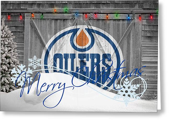 Edmonton Oilers Greeting Card