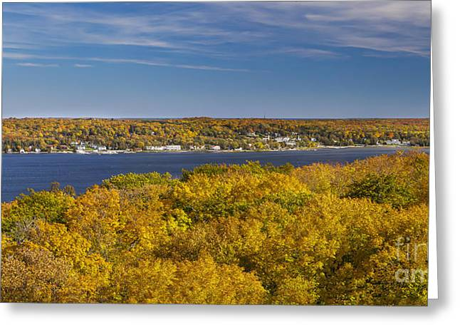 Fall In Door County Greeting Card