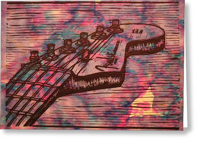 Fender Strat Greeting Card