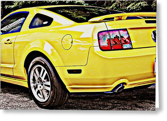 Ford Mustang Gt Greeting Card by Aurelio Zucco