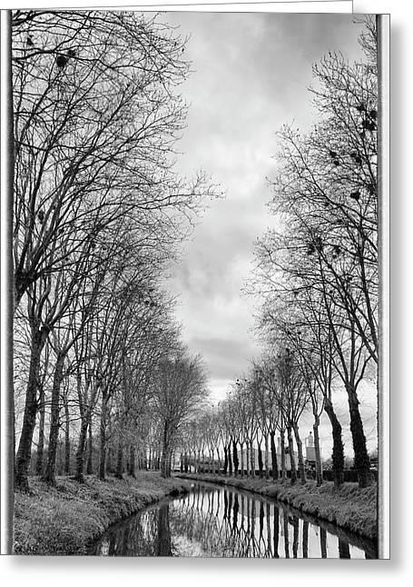 France, Burgundy, Nievre Greeting Card