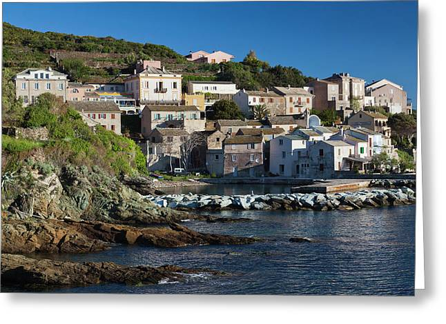 France, Corsica, Le Cap Corse Greeting Card
