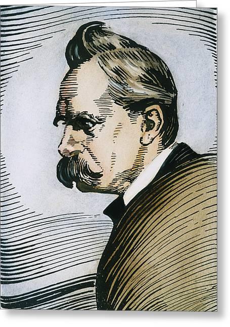 Friedrich W Greeting Card