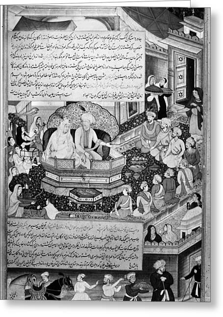 Genghis Khan (1162-1227) Greeting Card by Granger