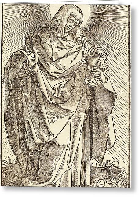 Hans Baldung Grien German, 1484-1485 - 1545 Greeting Card by Quint Lox