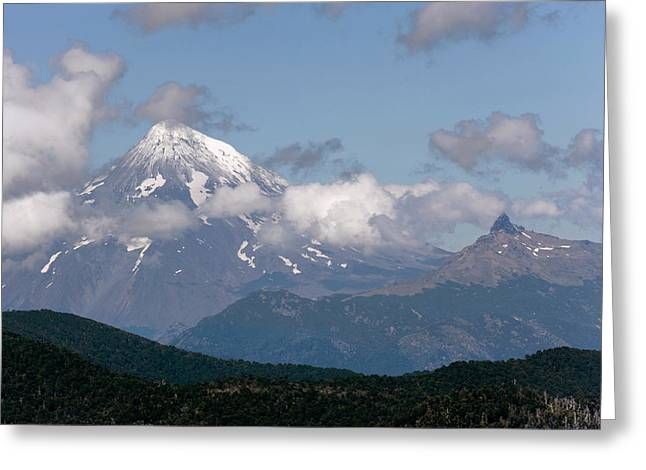 Huerquehue National Park, Chile Greeting Card by Scott T. Smith