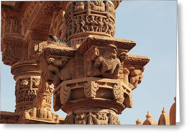 India, Rajasthan, Jaisalmer Greeting Card