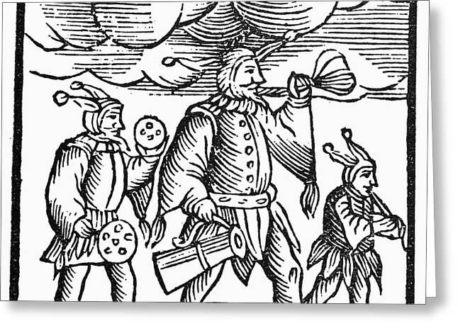 Jewish Holiday, 1663 Greeting Card