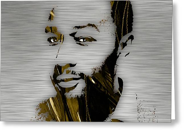 John Legend Collection Greeting Card by Marvin Blaine