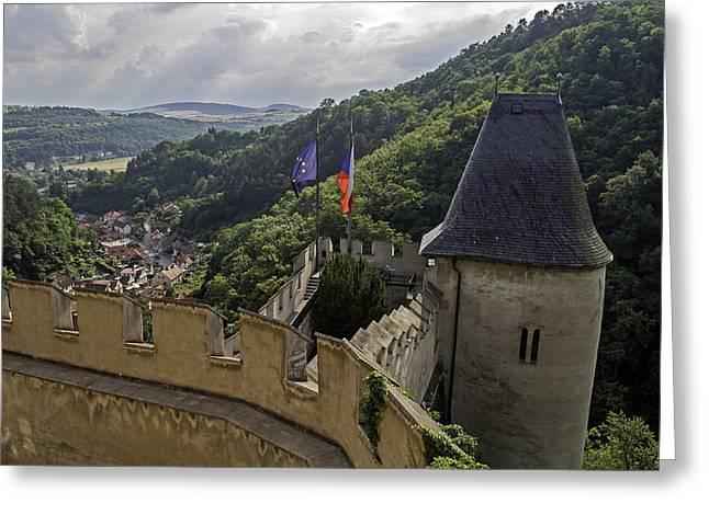 Karlstejn Castle. Greeting Card
