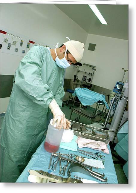 Kidney transplant photograph by aj photoscience photo library kidney transplant greeting card by aj photoscience photo library m4hsunfo