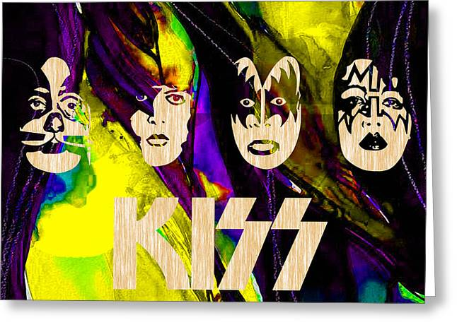 Kiss Collection Greeting Card by Marvin Blaine