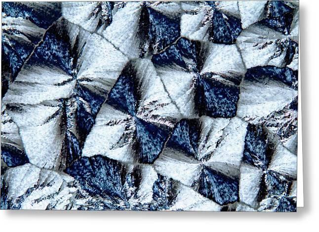 Lactose Crystals Greeting Card