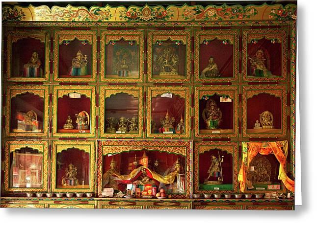 Ladakh, India The Interior Greeting Card by Jaina Mishra