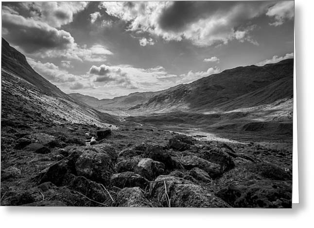 Langdale Greeting Card by Mike Taylor