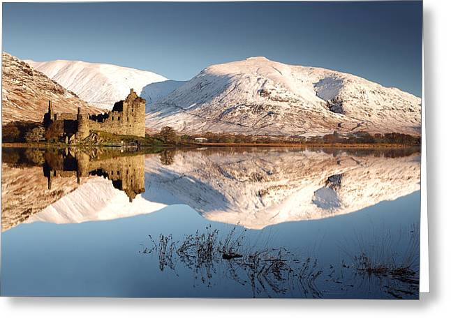 Greeting Card featuring the photograph Loch Awe by Grant Glendinning