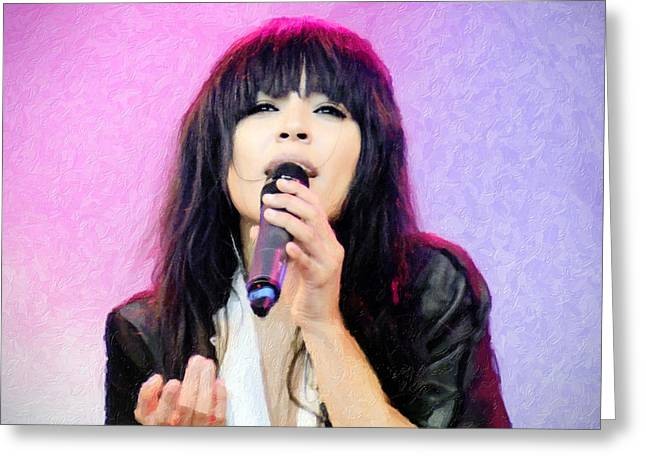 Loreen Greeting Card