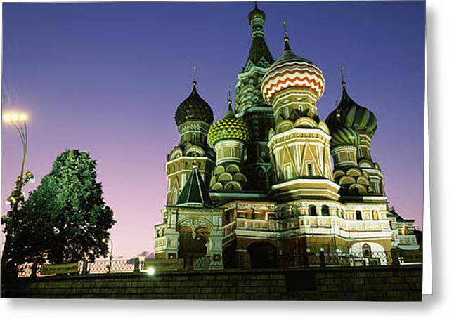 Low Angle View Of A Cathedral, St Greeting Card