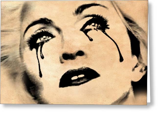 Madonna  Greeting Card