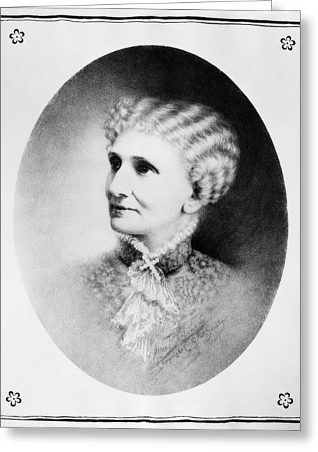 Mary Baker Eddy (1821-1910) Greeting Card by Granger