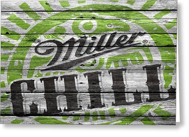 Miller Greeting Card by Joe Hamilton