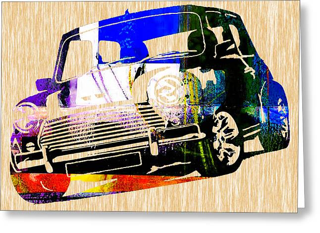 Mini Cooper Greeting Card