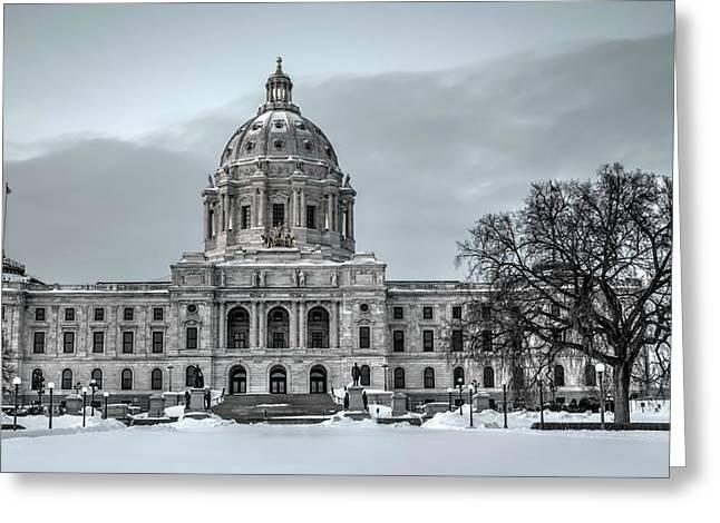 Minnesota State Capitol St Paul Greeting Card