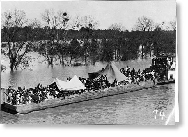 Mississippi Flood, 1927 Greeting Card