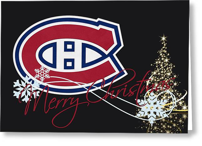 Montreal Canadiens Greeting Card